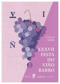 Cartel Festa do Viño 2016